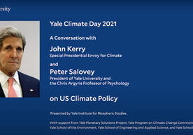 Yale Climate Day 2021 - US Policy Discussion