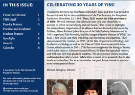 YIBS Newsletter Cover