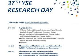 Yale School of the Environment - Research Day